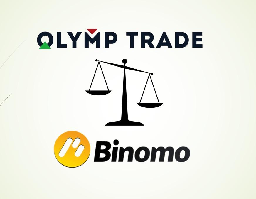 ¿Cuál es la diferencia entre Binomo y Olymp Trade?