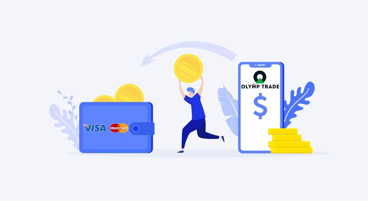 Problemas al depositar y retirar dinero en Olymp Trade