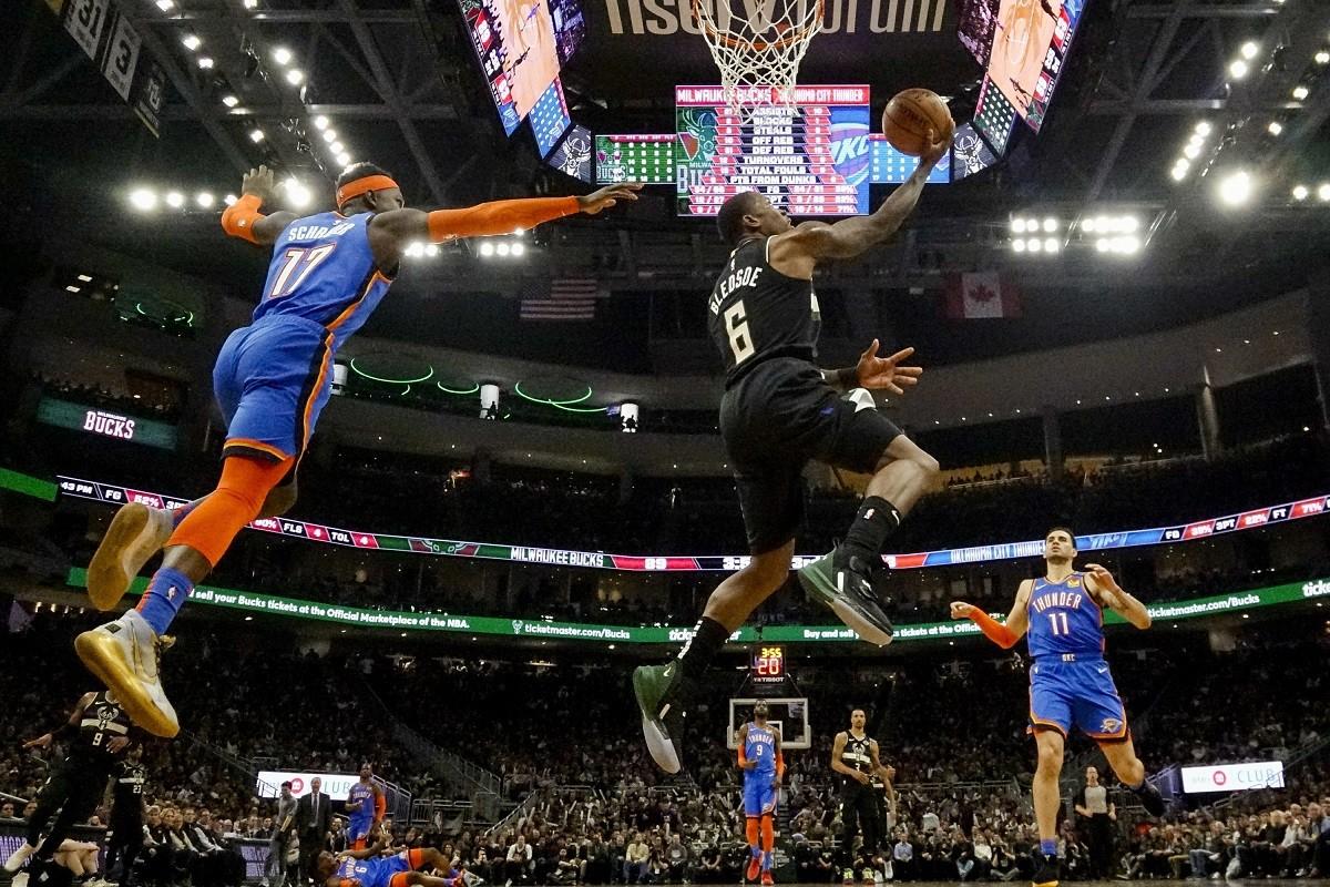 Kết quả NBA ngày 29/2: Bucks đại thắng Thunder-1