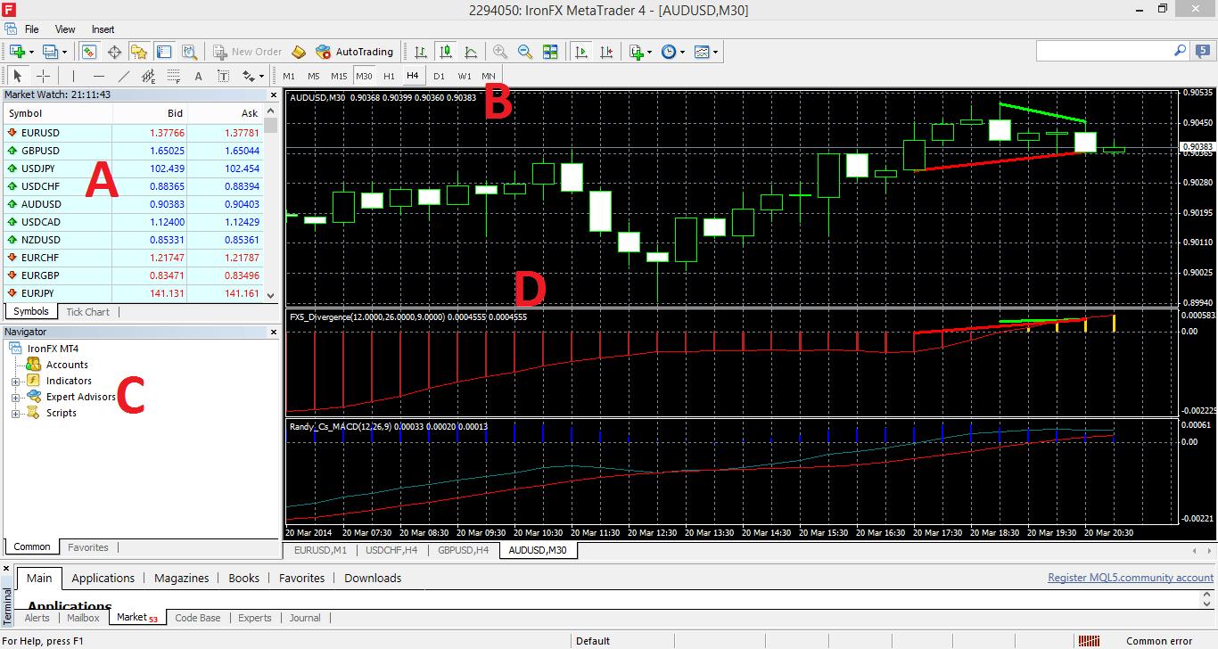 Parte 2: Muestra de Meta Trader 4 - ¿Cómo instalar el MT4?-2