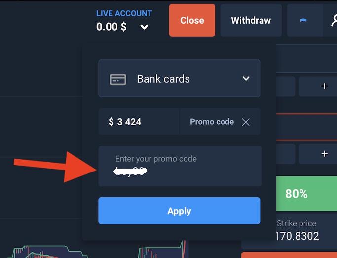 ¿Cómo depositar y retirar dinero en Olymp Trade?-3