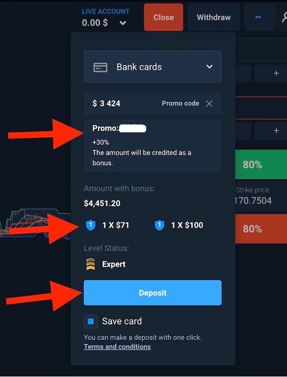 ¿Cómo depositar y retirar dinero en Olymp Trade?-4